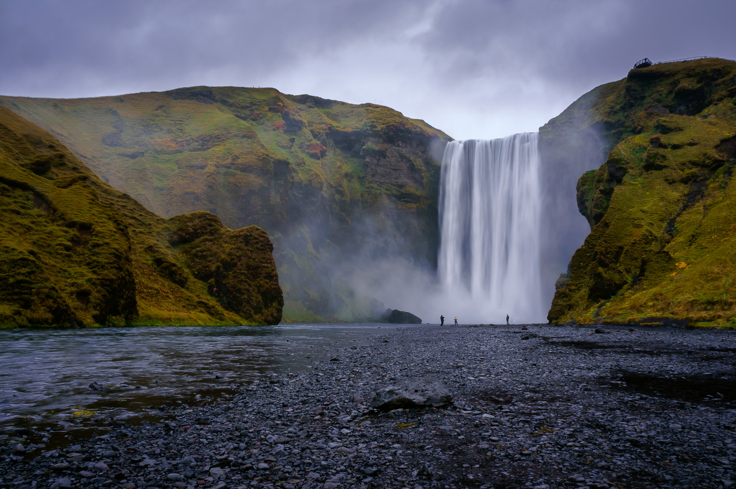 Skogafoss Iceland by Anne McKinnell - Beginner's Guide to Natural Light in Landscape Photography