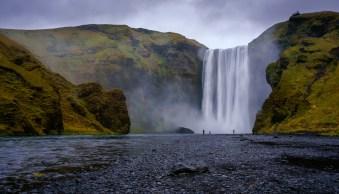 Skogafoss Iceland by Anne McKinnell