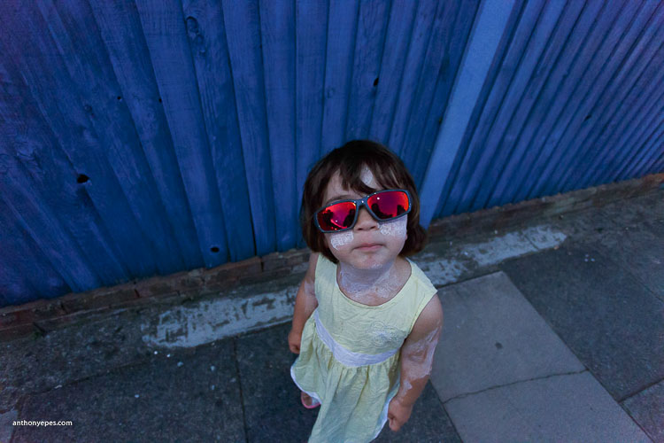 little girl with sunglasses - 10 Things You Can Learn About Photography from Elliott Erwitt
