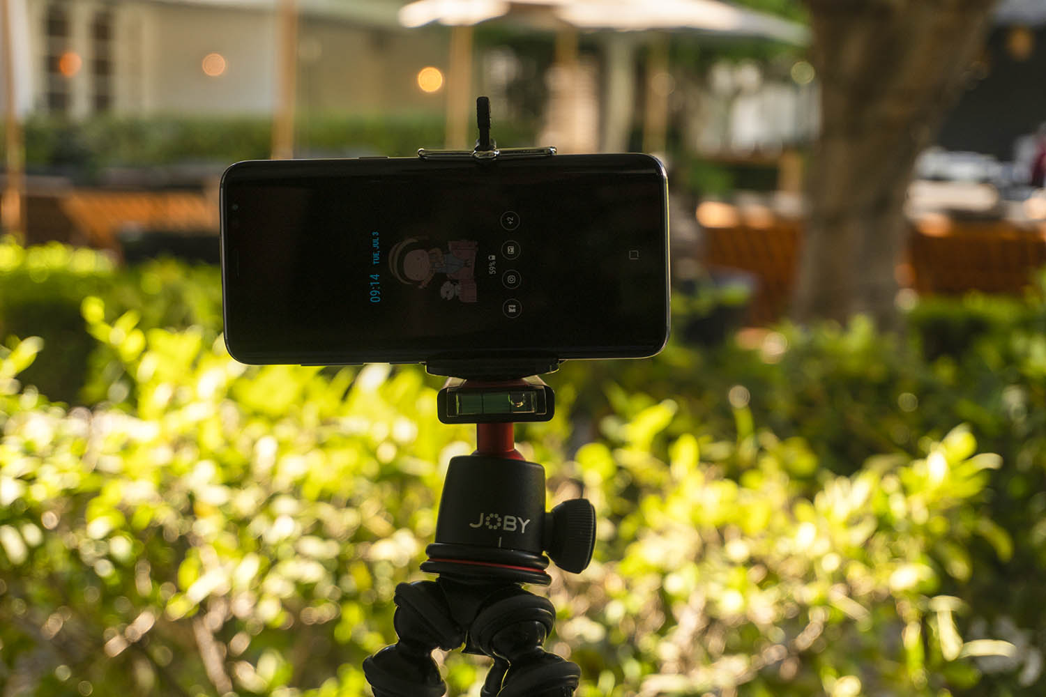Equipment List for Making Better Videos With Your Smartphone - Smartphone mounted on a tripod