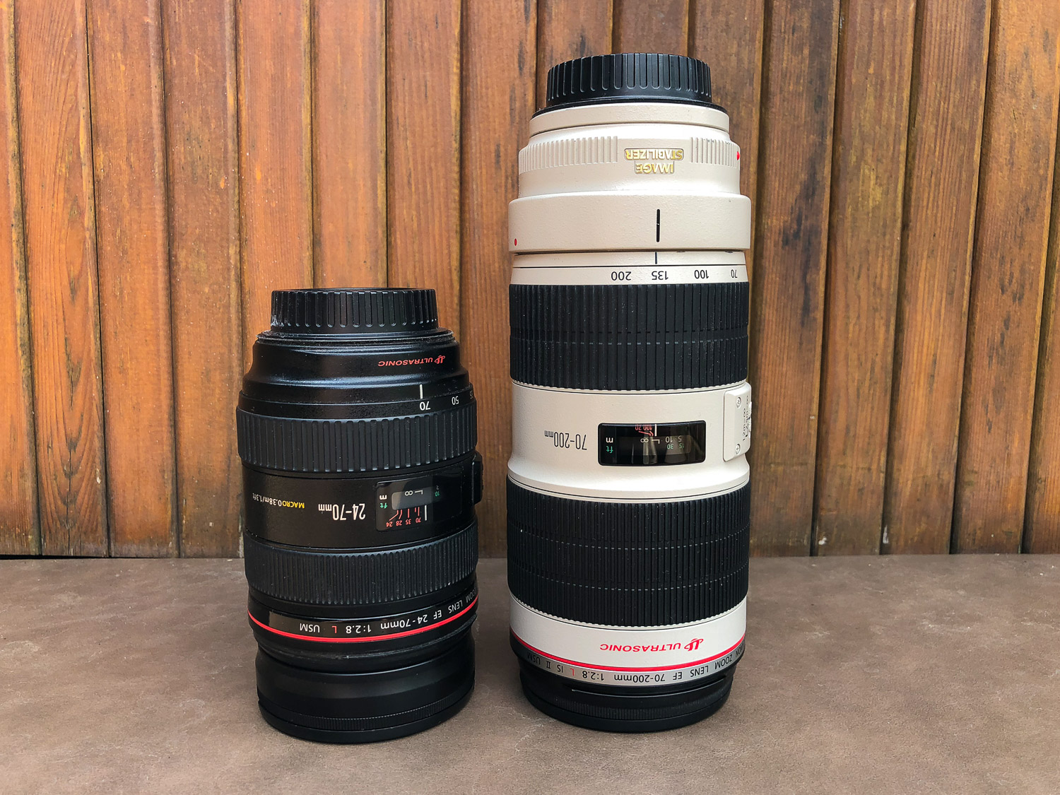 24-70mm and 70-200mm lenses - The First 10 Things You Need to Buy After Your Camera for Travel Photography