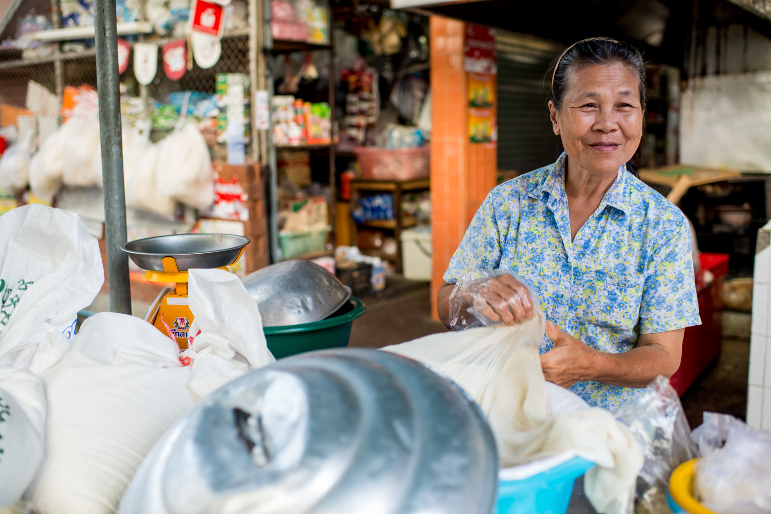 Sticky Rice Vendor - 8 Tips to Help Find the Subject for Your Composition