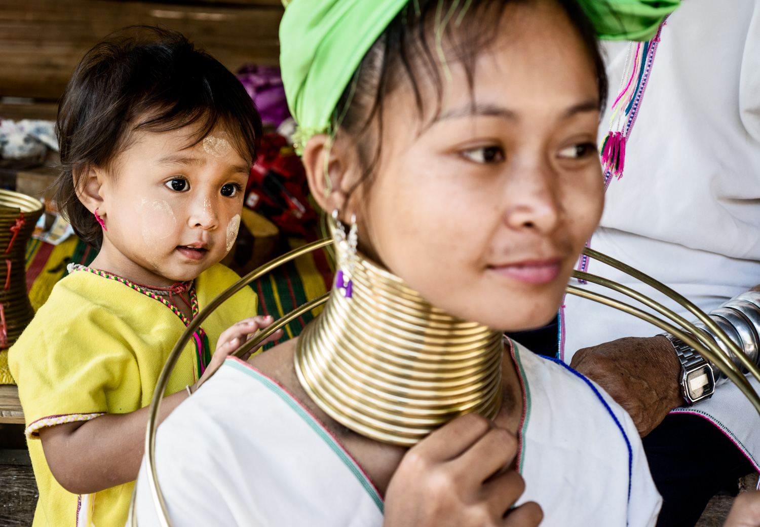 girl with Kayan Neck Rings  - 8 Tips to Help Find the Subject for Your Composition