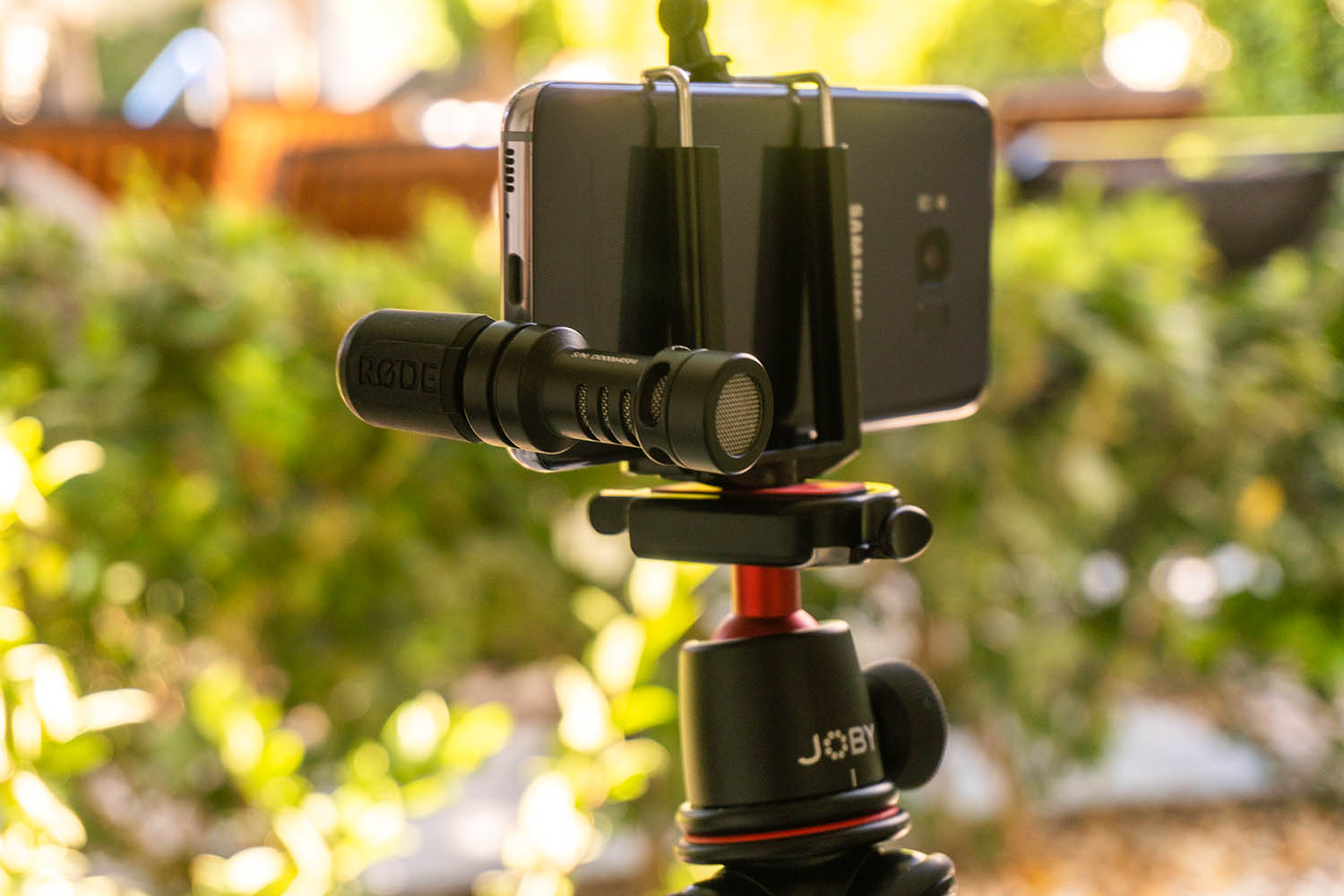 Rode mic on a smartphone - Equipment List for Making Better Videos With Your Smartphone