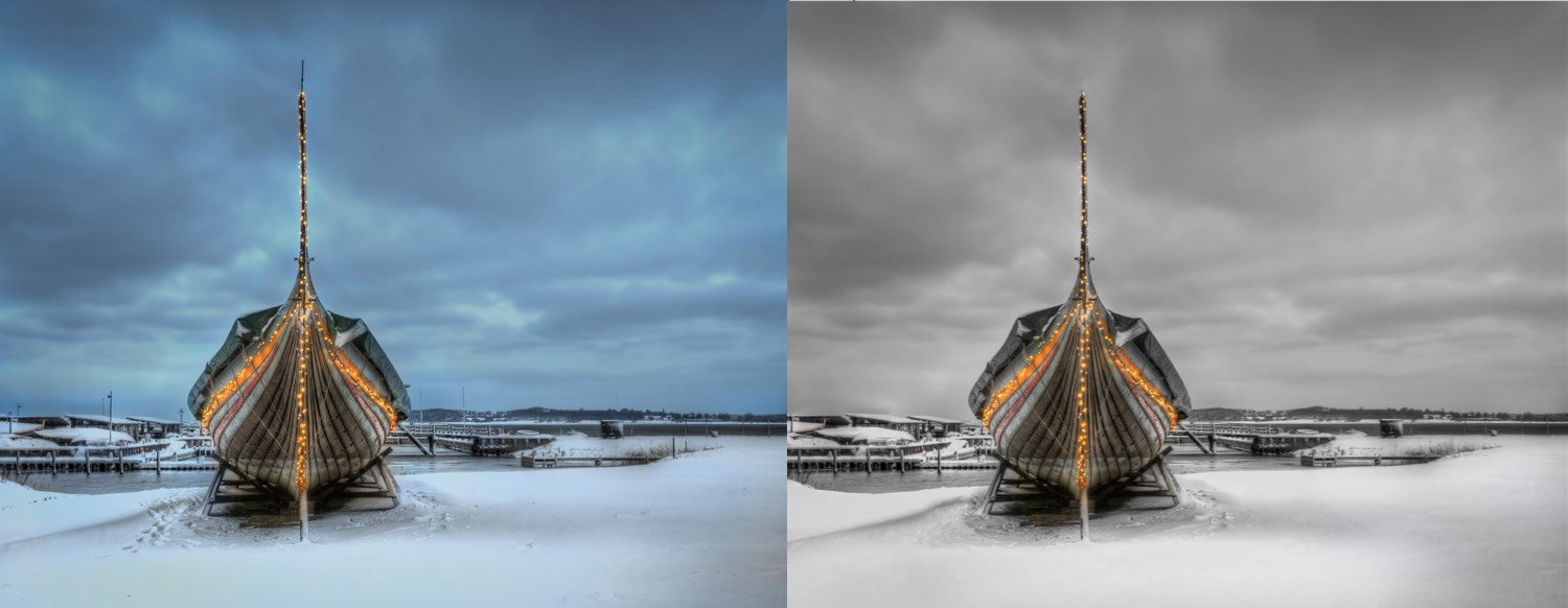 How to Use Selective Color for More Dynamic Images - before and after images
