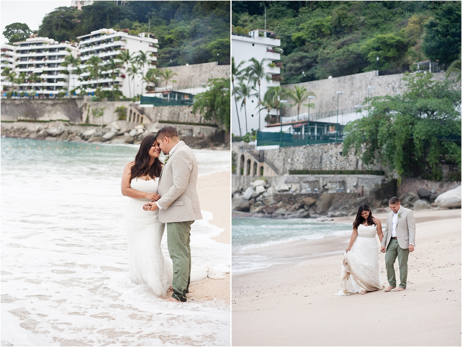 couple on the beach - Tips for Better Bridal Portraits