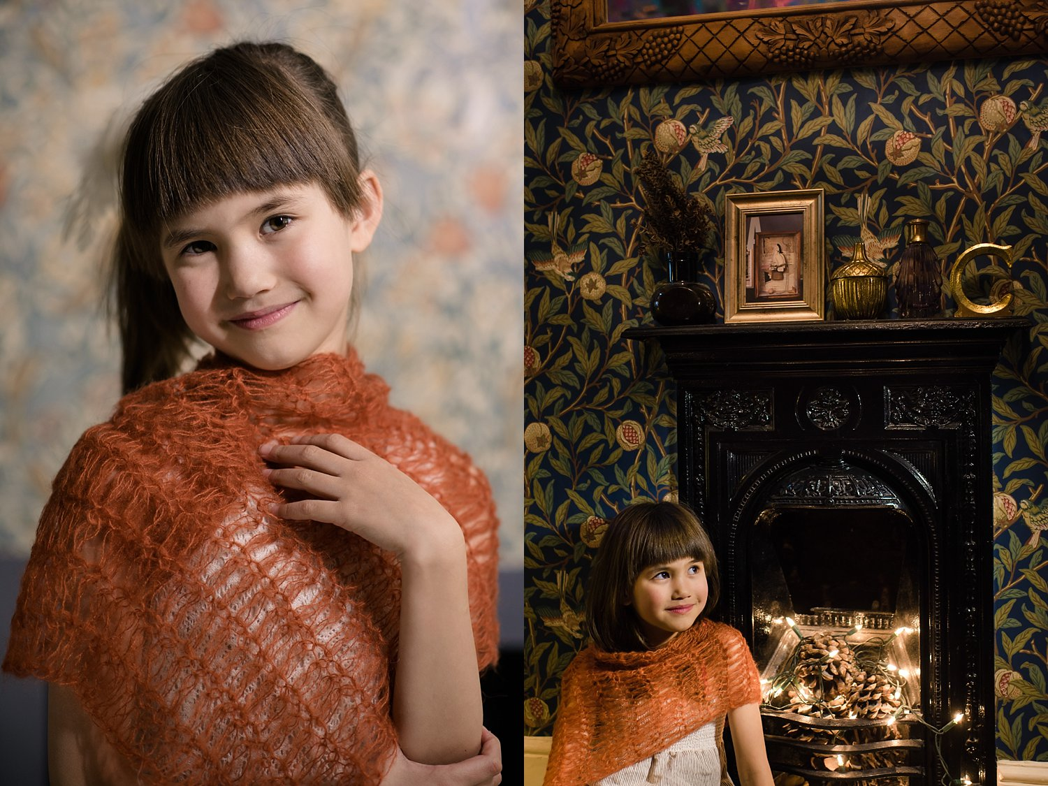 6 Types of Portrait Backgrounds You Can Use for Your Images - busy patterned background
