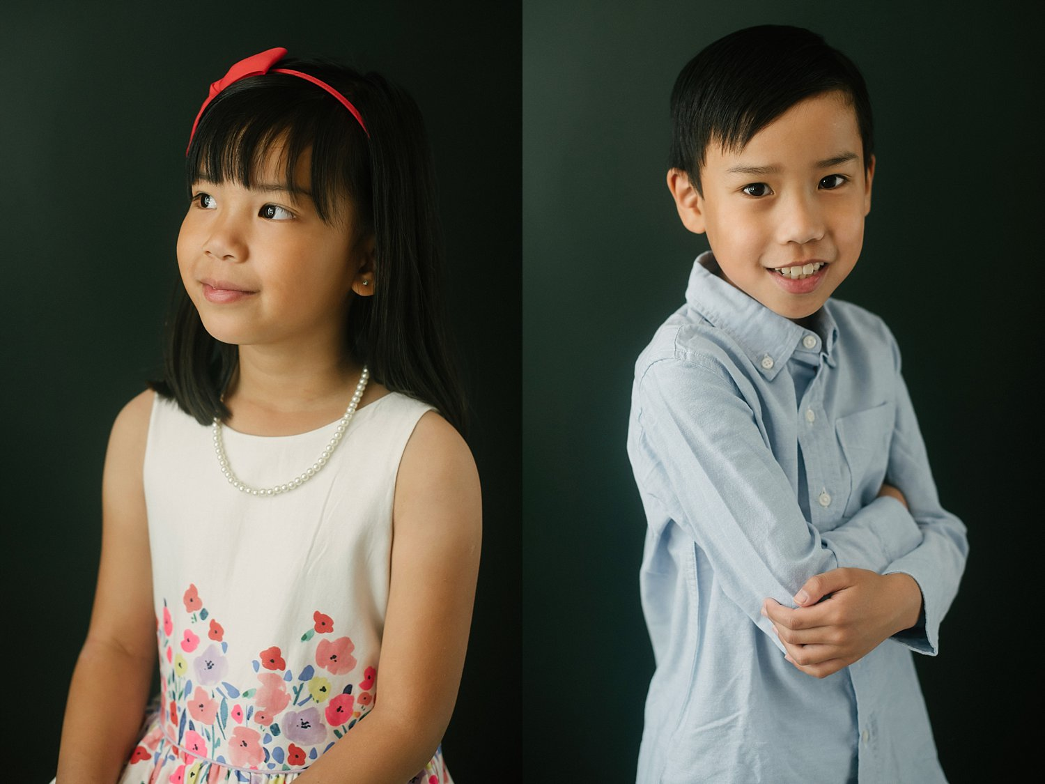 kids with dark background - 6 Types of Portrait Backgrounds You Can Use for Your Images