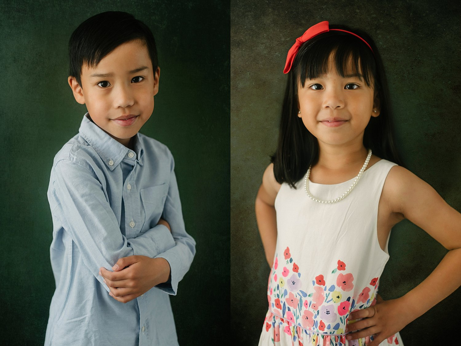 fake background kids photos - 6 Types of Portrait Backgrounds You Can Use for Your Images