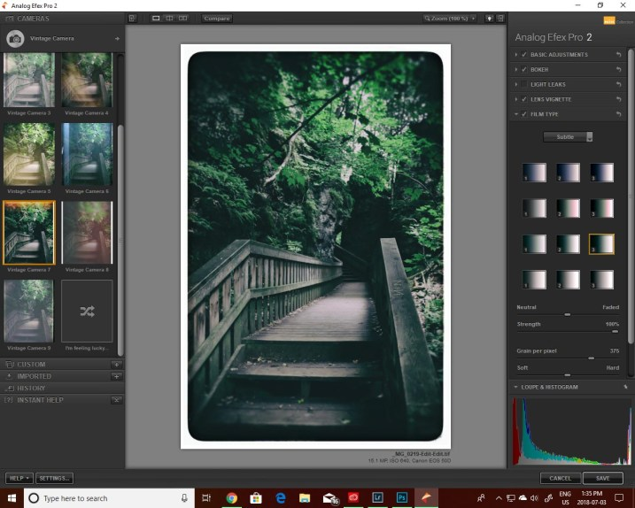 How to Edit Old Images with Your New Skill Set - inside NIK Analog Efex