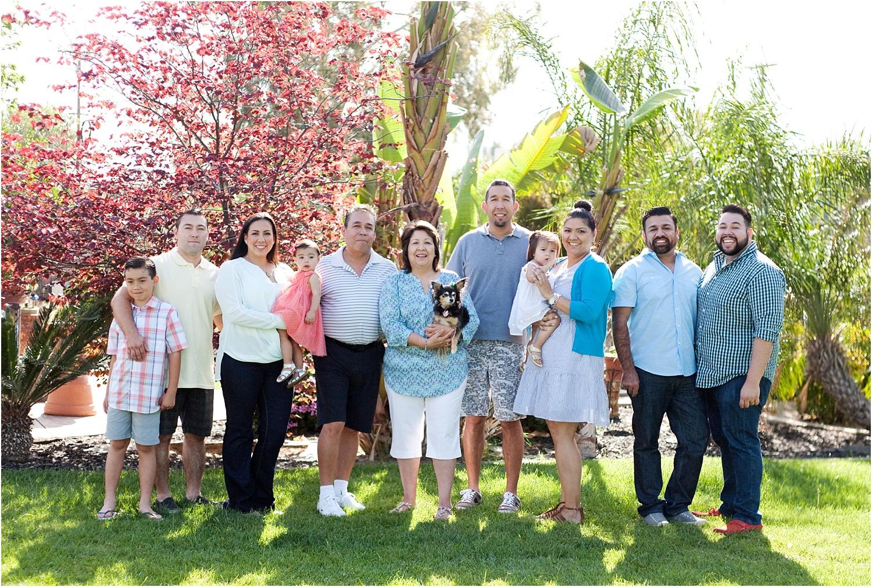建立大家庭和群体的提示 - 在树前的大家庭