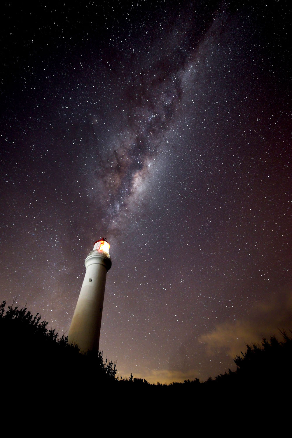 final image of lighthouse - Tips for Processing Night Photography with ON1 Photo RAW 2018