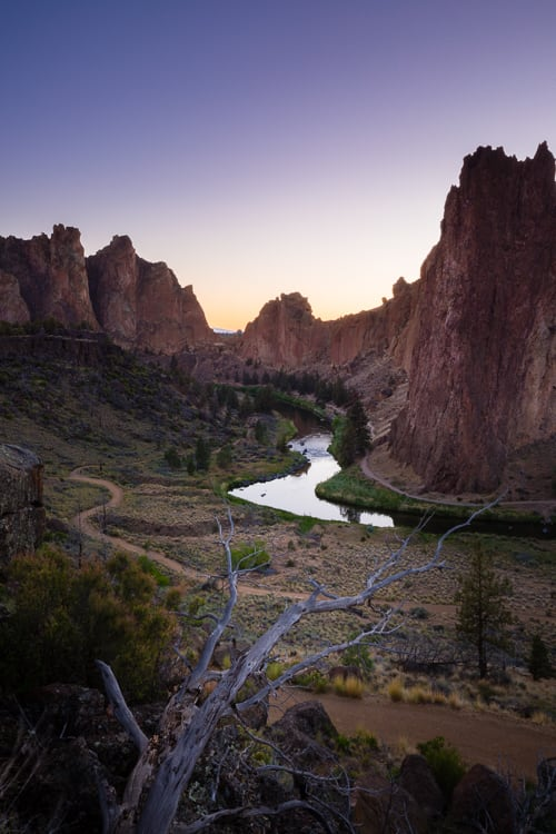 Smith rock - How to Use Neutral Tones to Craft Realistic Edits for Landscape Photos