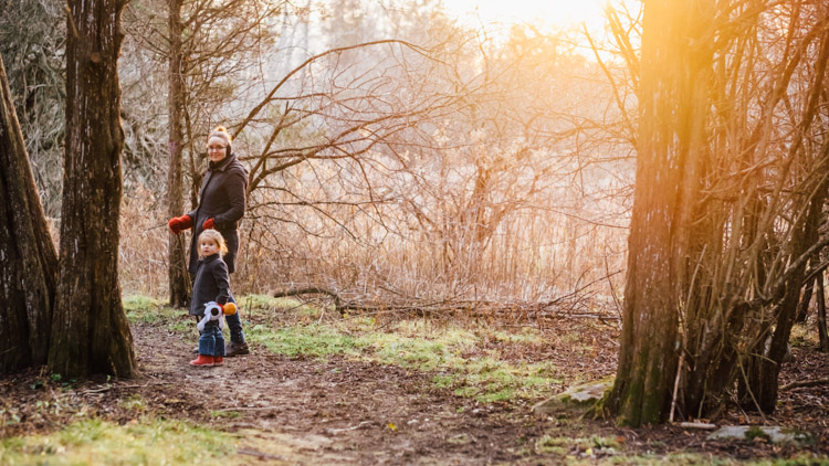 Golden hour family photo - How to Photograph Your Everyday Family Life