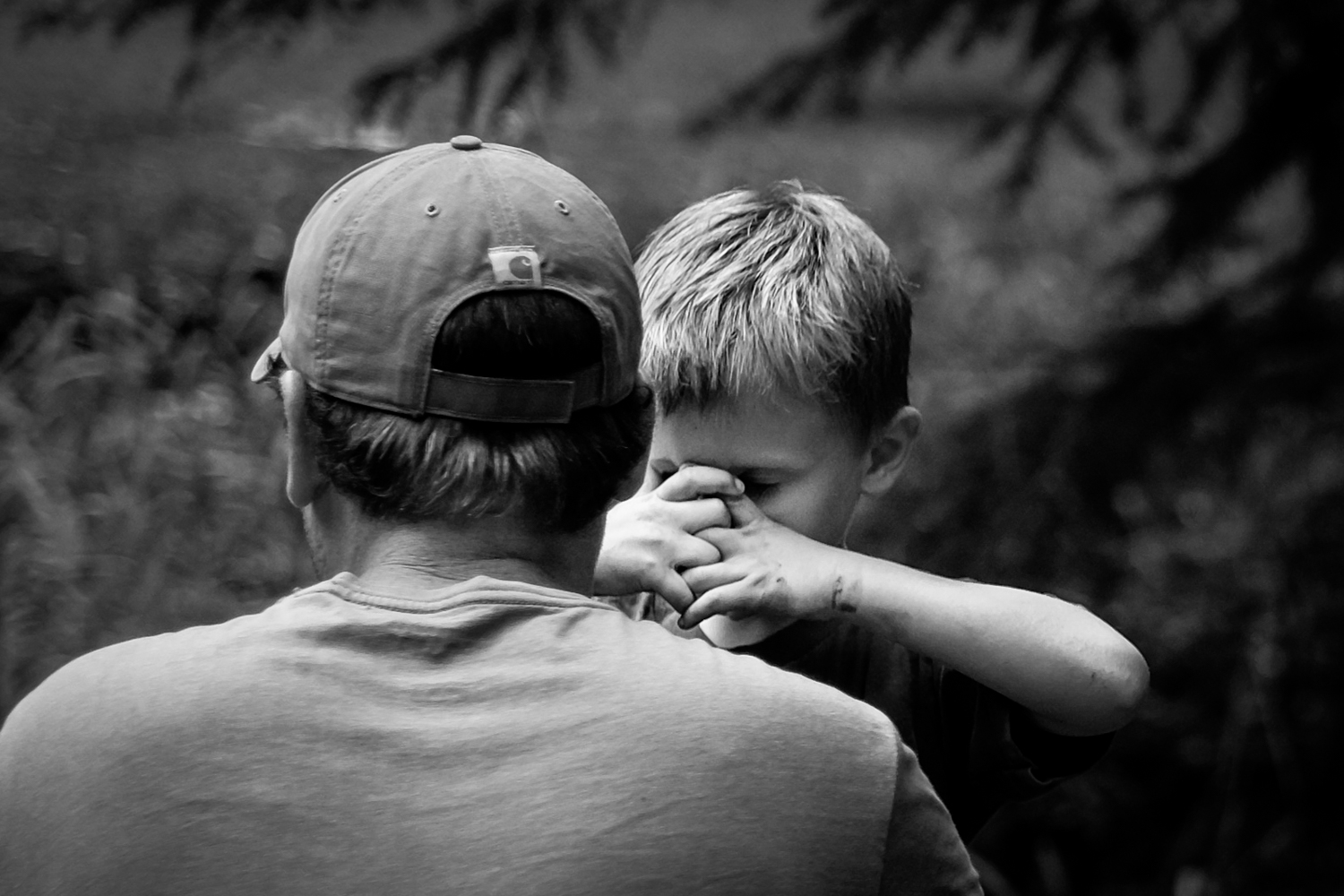 boy and his father - 3 Quotes for the Creative Photographer