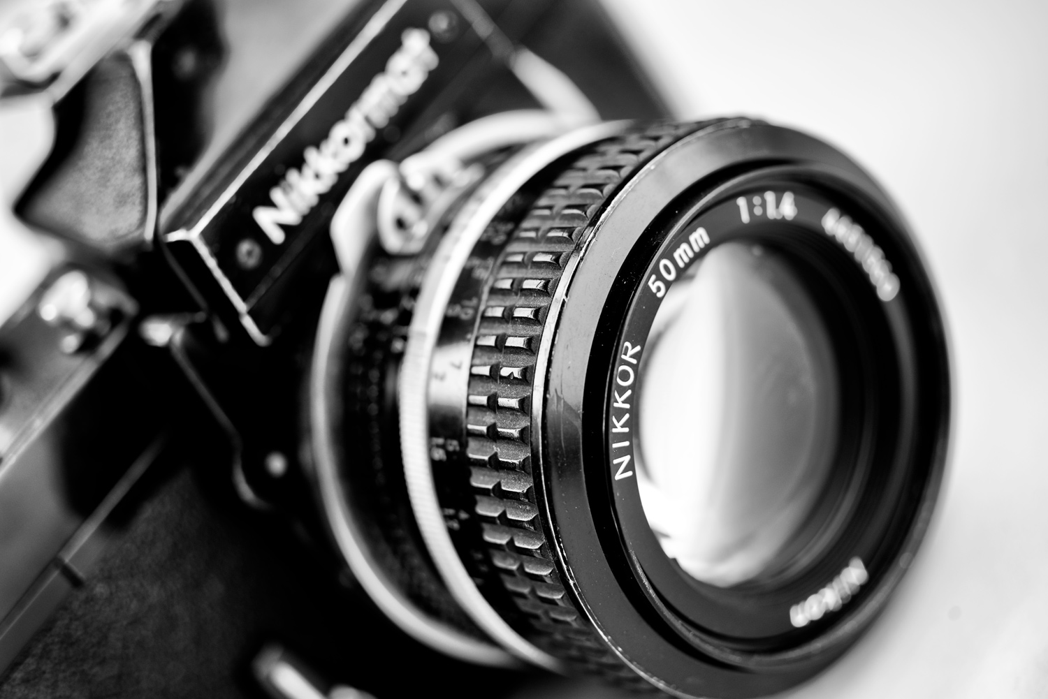 Nikkormat FTN with 50mm lens - dPS Writer's Favorite Lens: Why I Love My 35mm F1.4