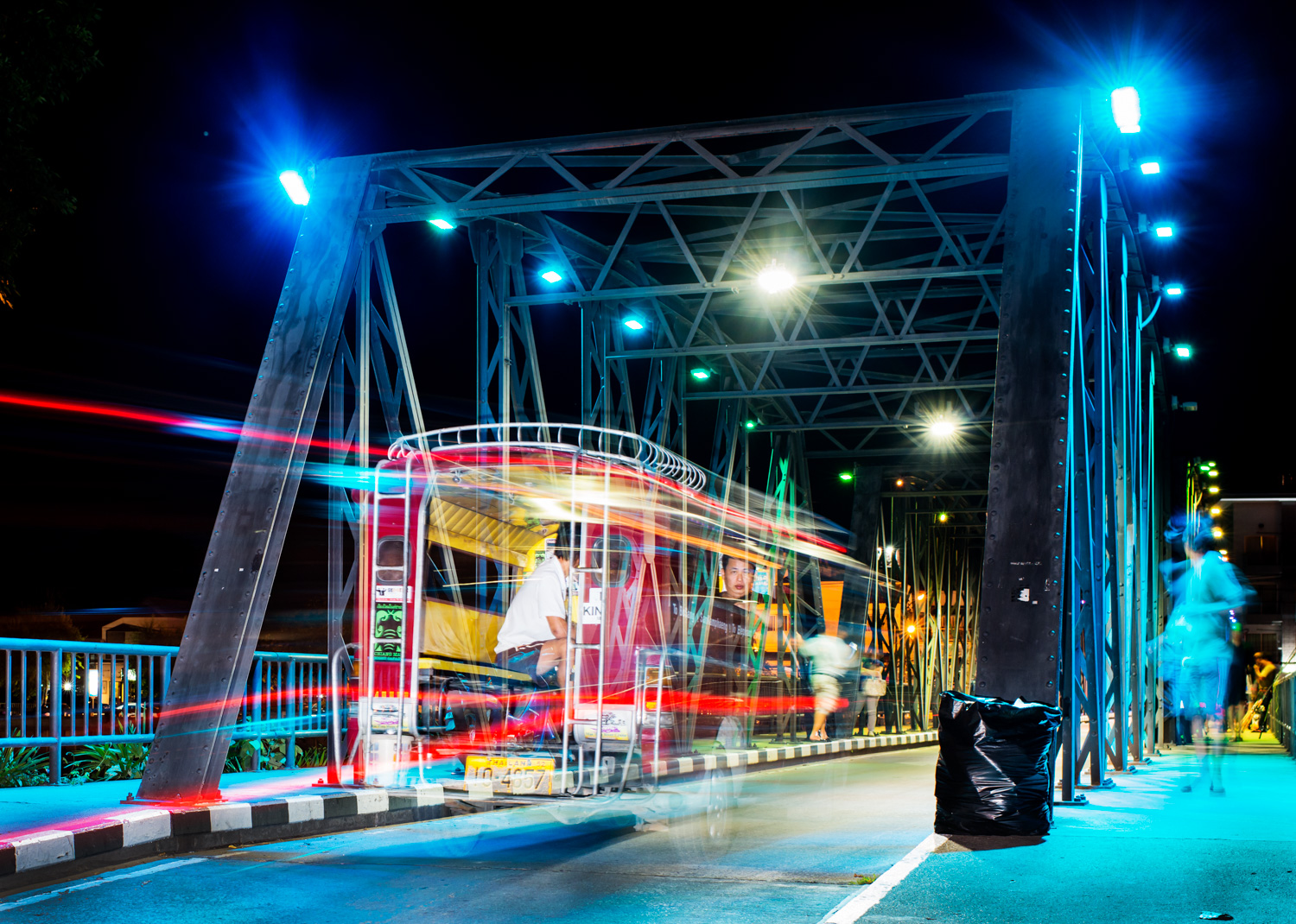 Night Photography In Chiang Mai, Thailand at the Iron Bridge -  7 Steps to Find Inspiration so You Can Create Phenomenal Photographs