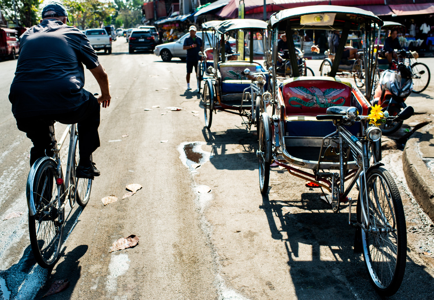Samlor Tricycle Taxis at Warorot Market, Chiang Mai, Thailand -  7 Steps to Find Inspiration so You Can Create Phenomenal Photographs