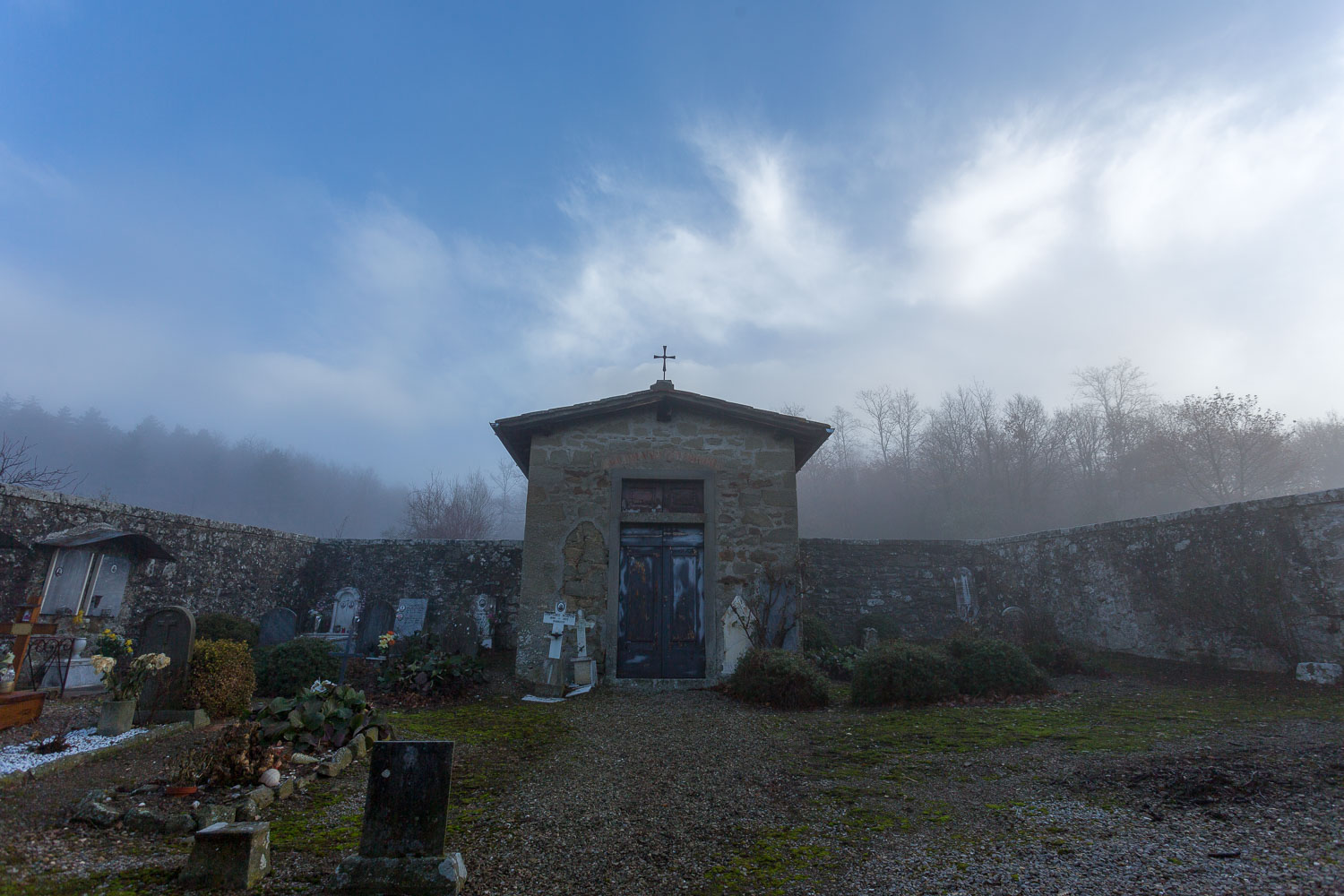 cemetery in Tuscany - How to Break the World Down into Elements to Create Better Photos