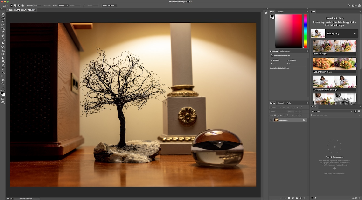 image in Photoshop - Five Reasons Why I Switched to Adobe Creative Cloud