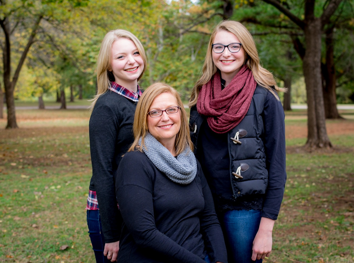 portrait 3 ladies in trees - The Importance of Getting the Image Right In-Camera