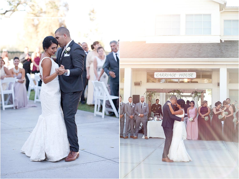 couple dancing - wedding day photography