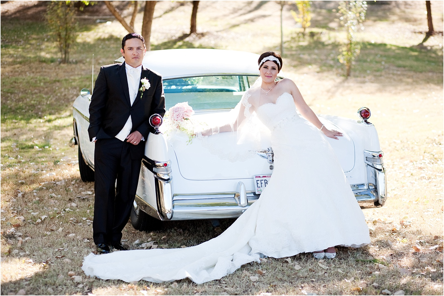 couple with car - How to do Portrait Photography in Bright Midday Sun