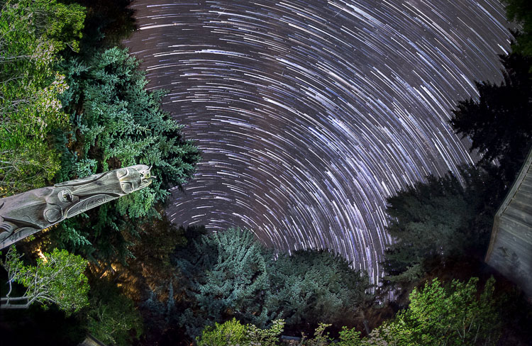 Image: Shooting star trails is the ultimate long exposure photography.