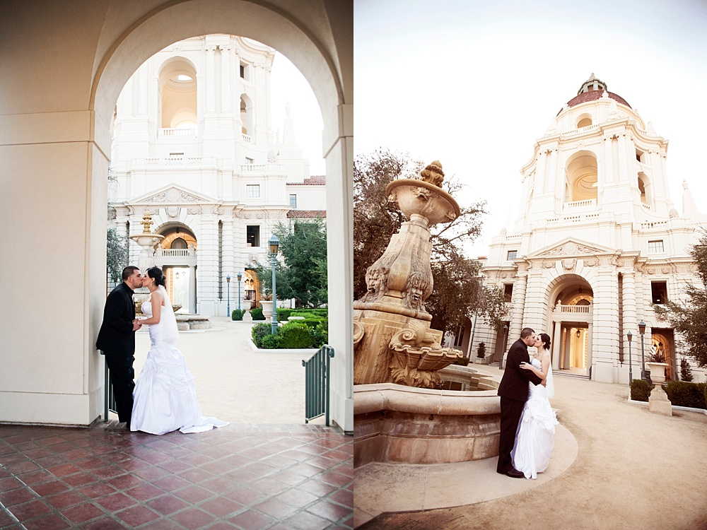 wedding Pasadena - wedding day photography