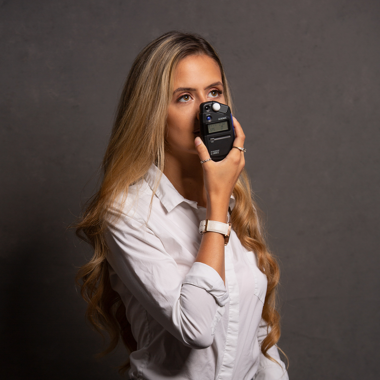 model using a light meter - Why I've Become a Light Meter Convert