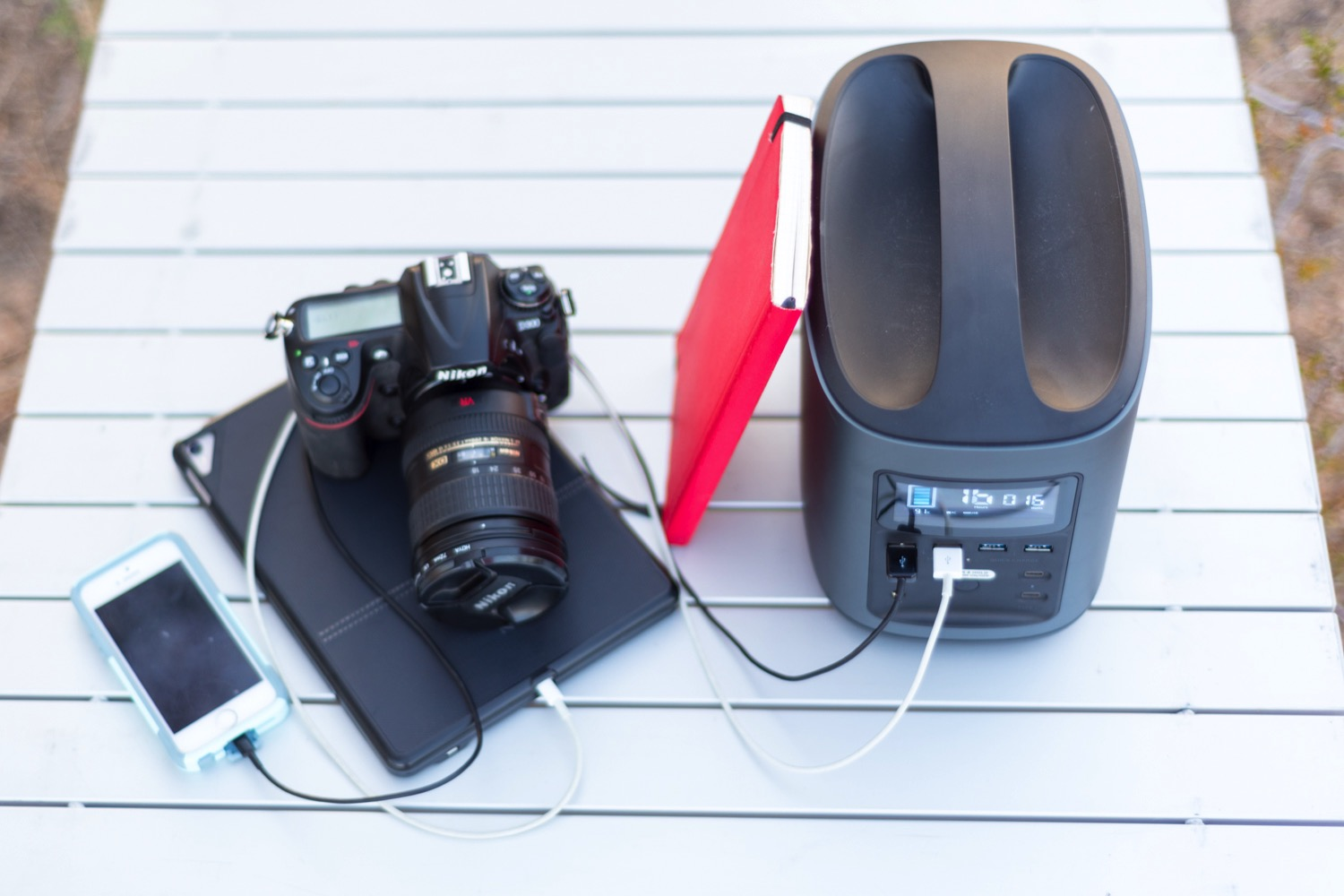 Batteries and Backups: How to Shoot Off the Grid - external battery