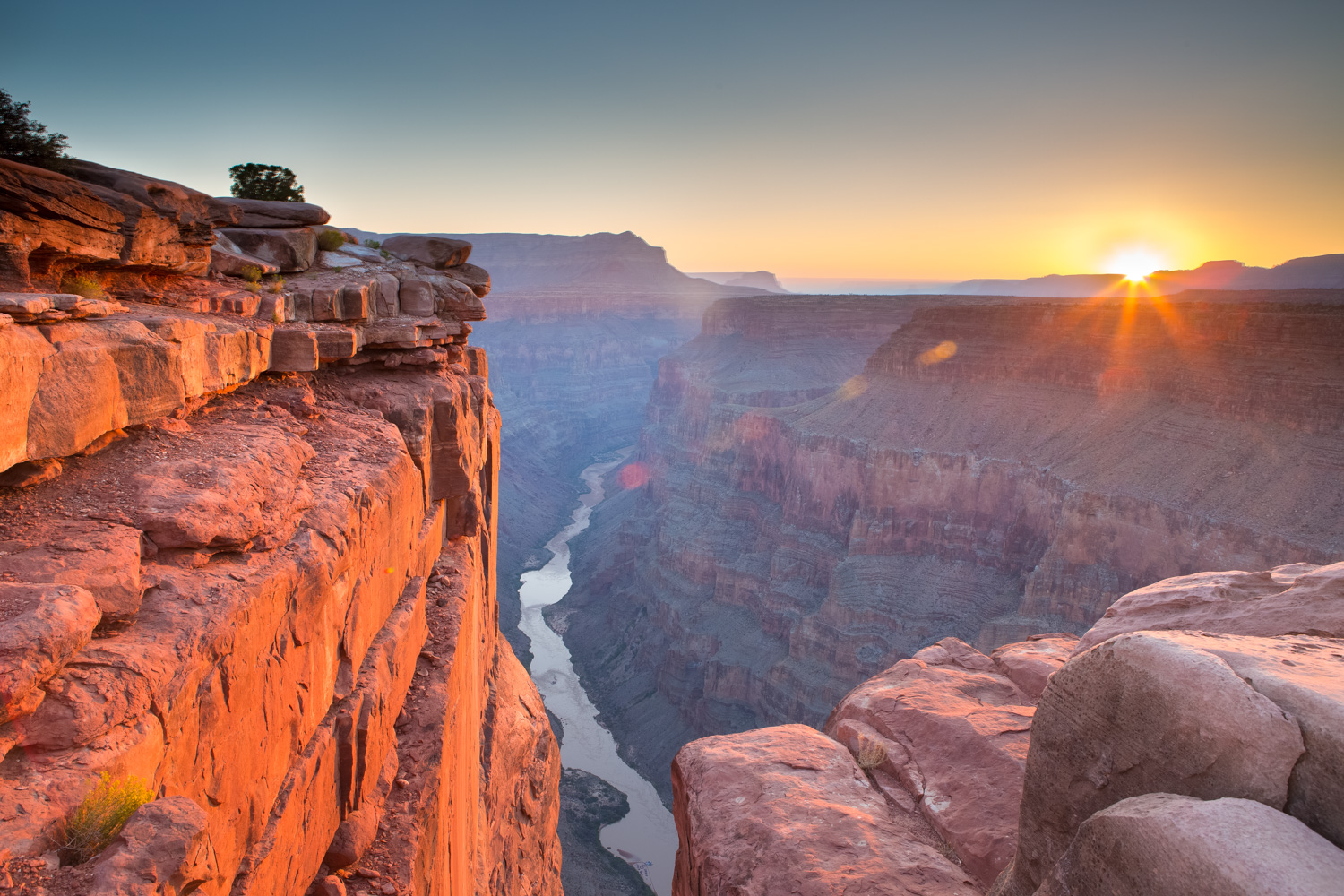Travel Icons - grand canyon