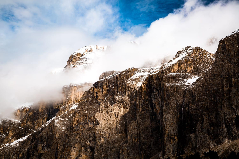 Sella Towers, Dolomites, Italy