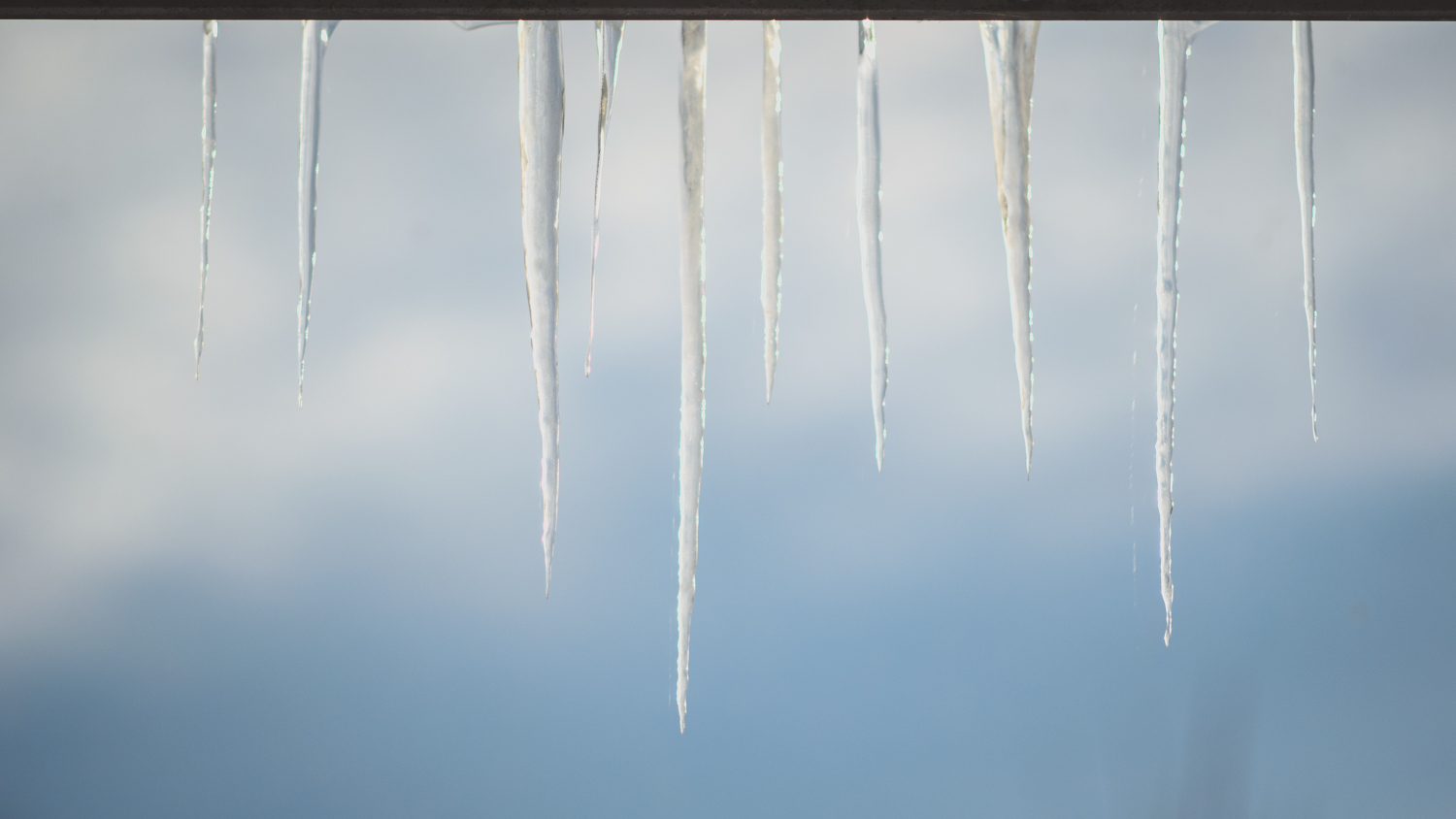 Image: These are the icicles during the afternoon.