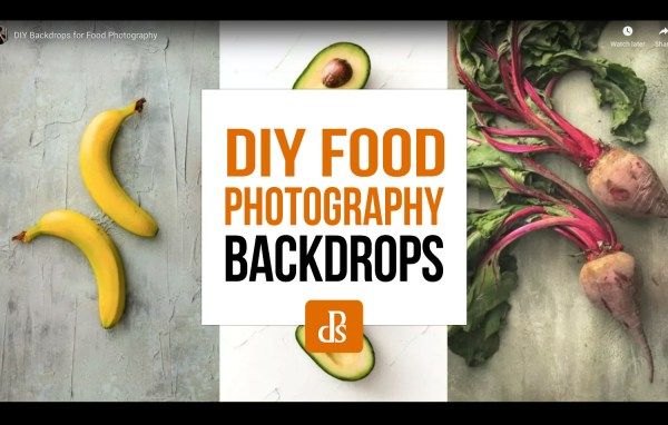 How to Make Easy and Affordable DIY Food Photography Backdrops