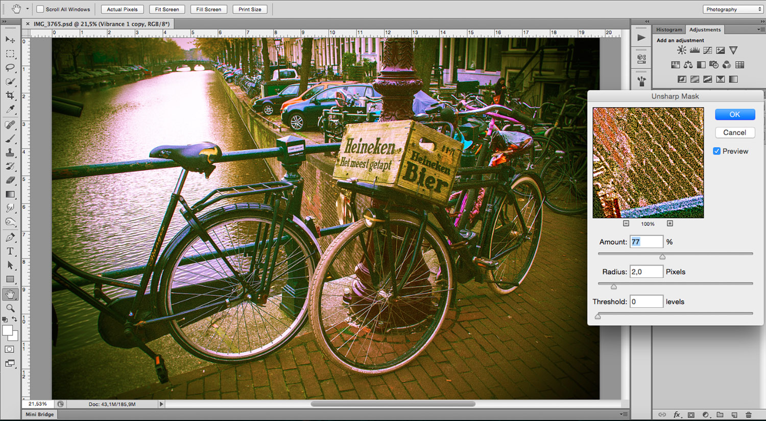 How to Mimic Lomography in Photoshop with Ease 8