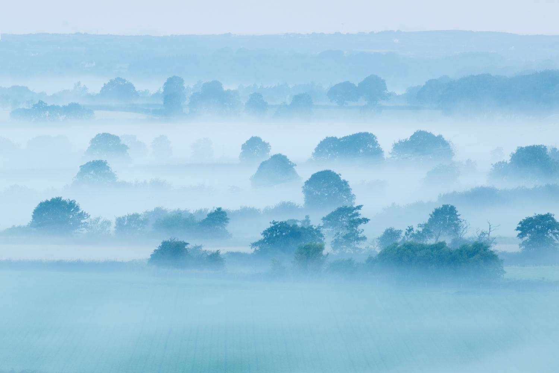 Image: Misty landscape, Northern Ireland