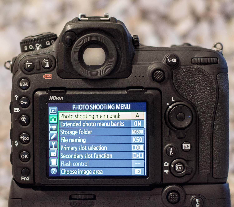 2 Nikon Custom Modes