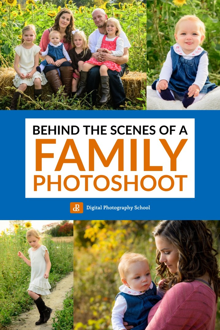 A Behind-The-Scenes Look at a Family Photo Session