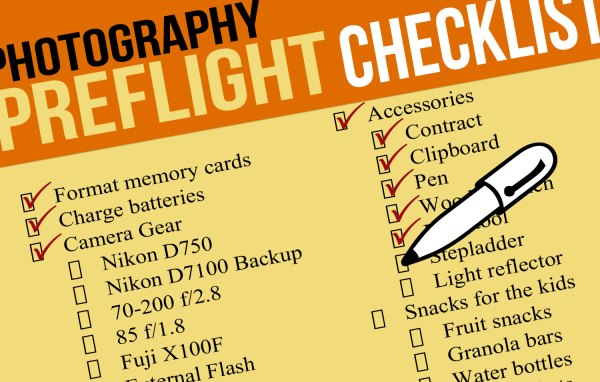 Essential Family Photo Session Preflight Checklist