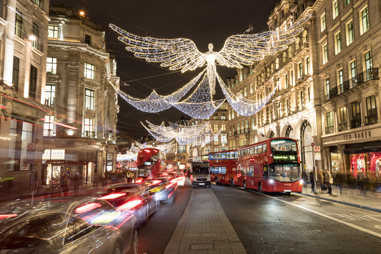 Image: London Xmas Lights © Jeremy Flint