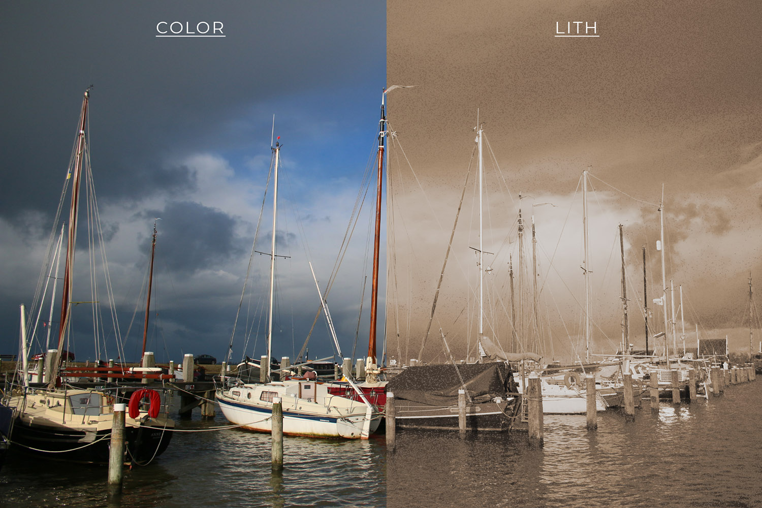 1- How to Create a Lithography Effect Using Photoshop
