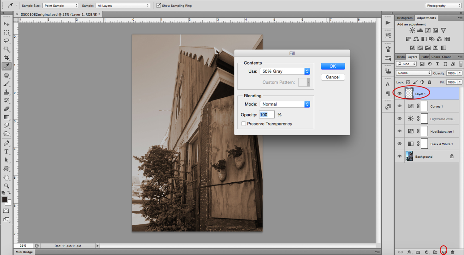 7 - How to Create a Lithography Effect Using Photoshop