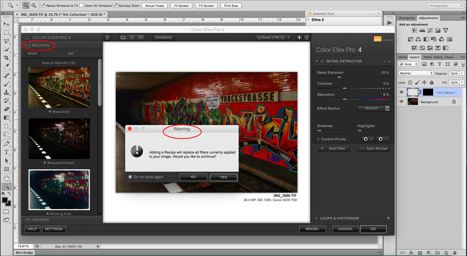 9 - How to Use the NIK Filter Collection with Photoshop - recipes