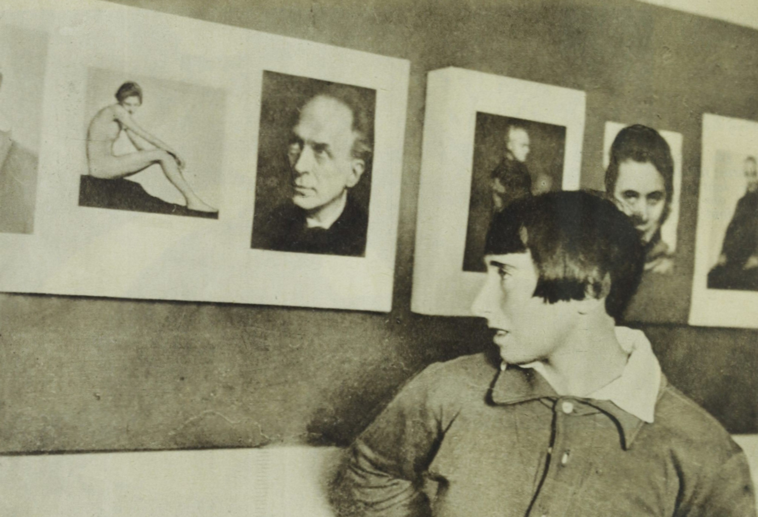 Image: Trude Fleischmann with her work. Image courtesy of Wikimedia