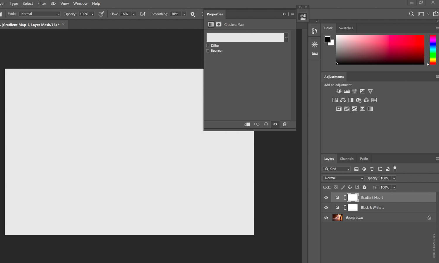 Create Powerful Black and White Photos with the Photoshop Gradient Map