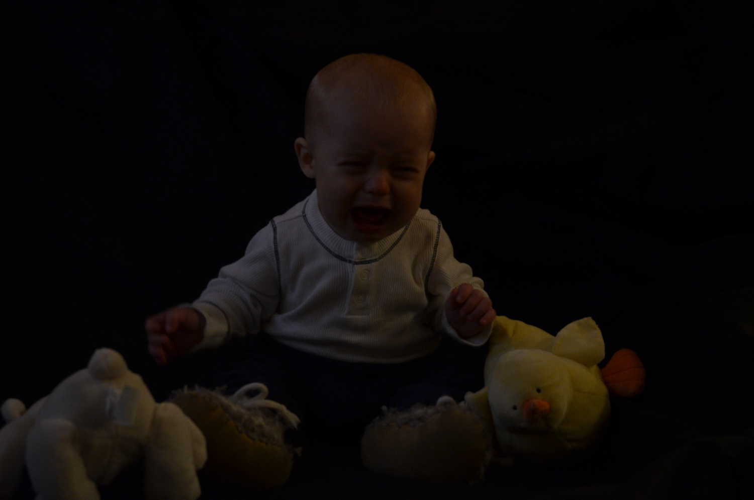 Image: This was my first attempt at a formal portrait of my son. I had no idea how to work my camera...