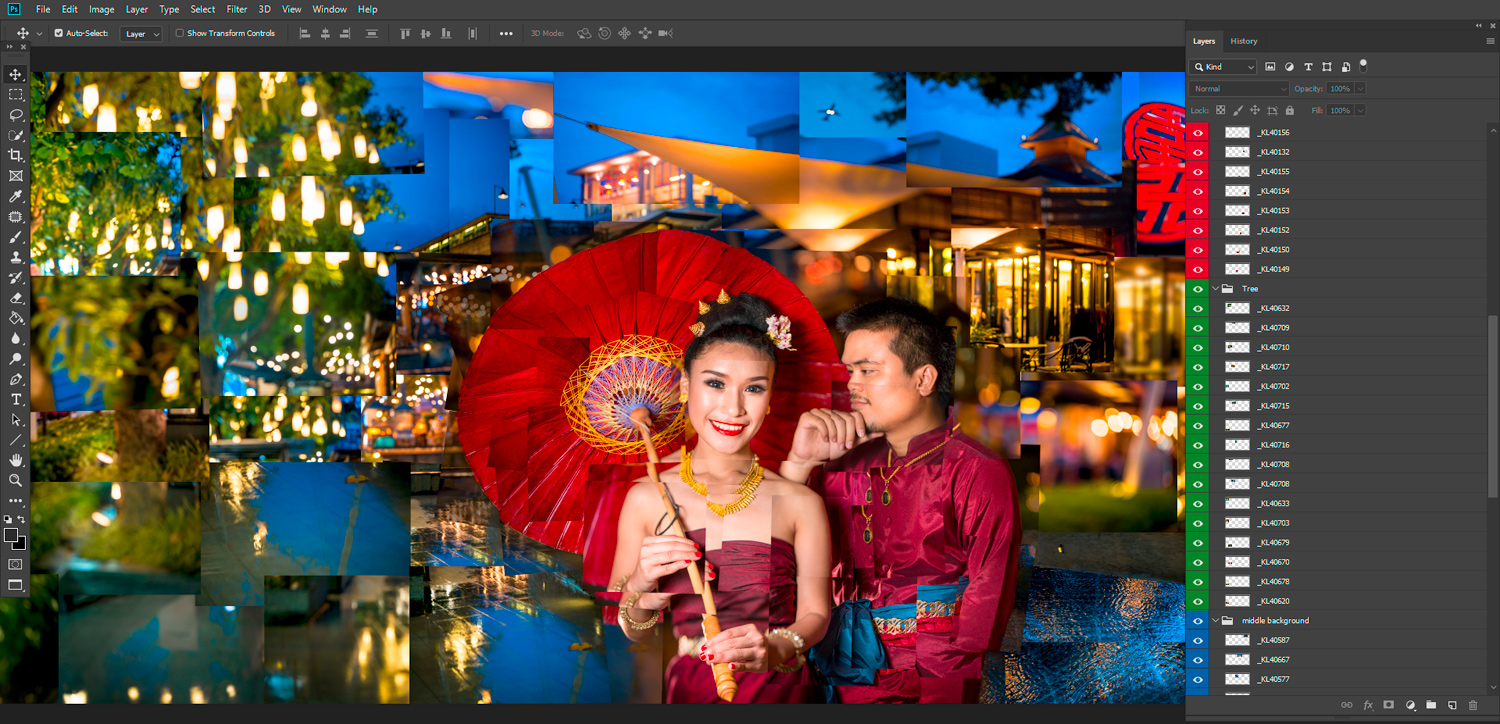 Colored Layers How To Make Amazing Photomontages
