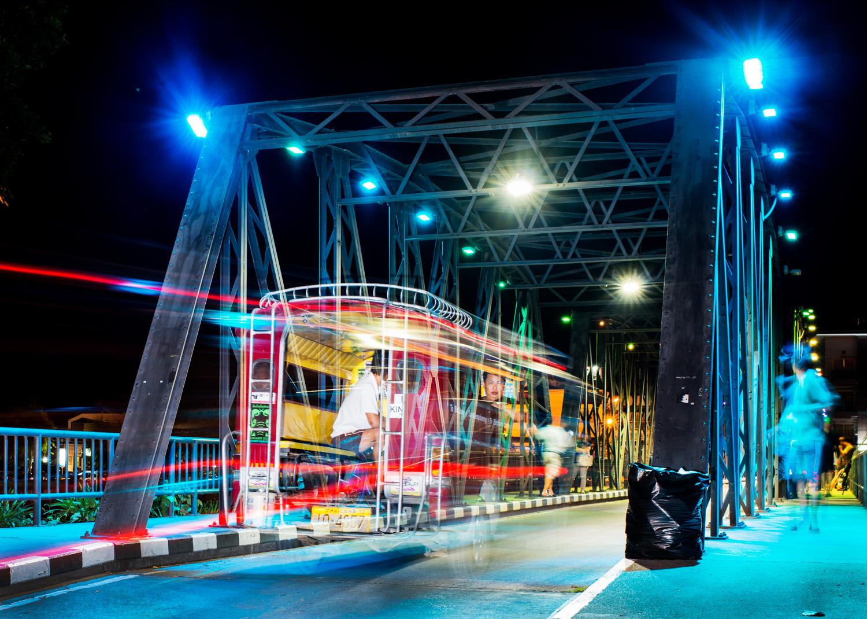Iron Bridge Using a Slow Shutter Speed to a Create Sense of Motion