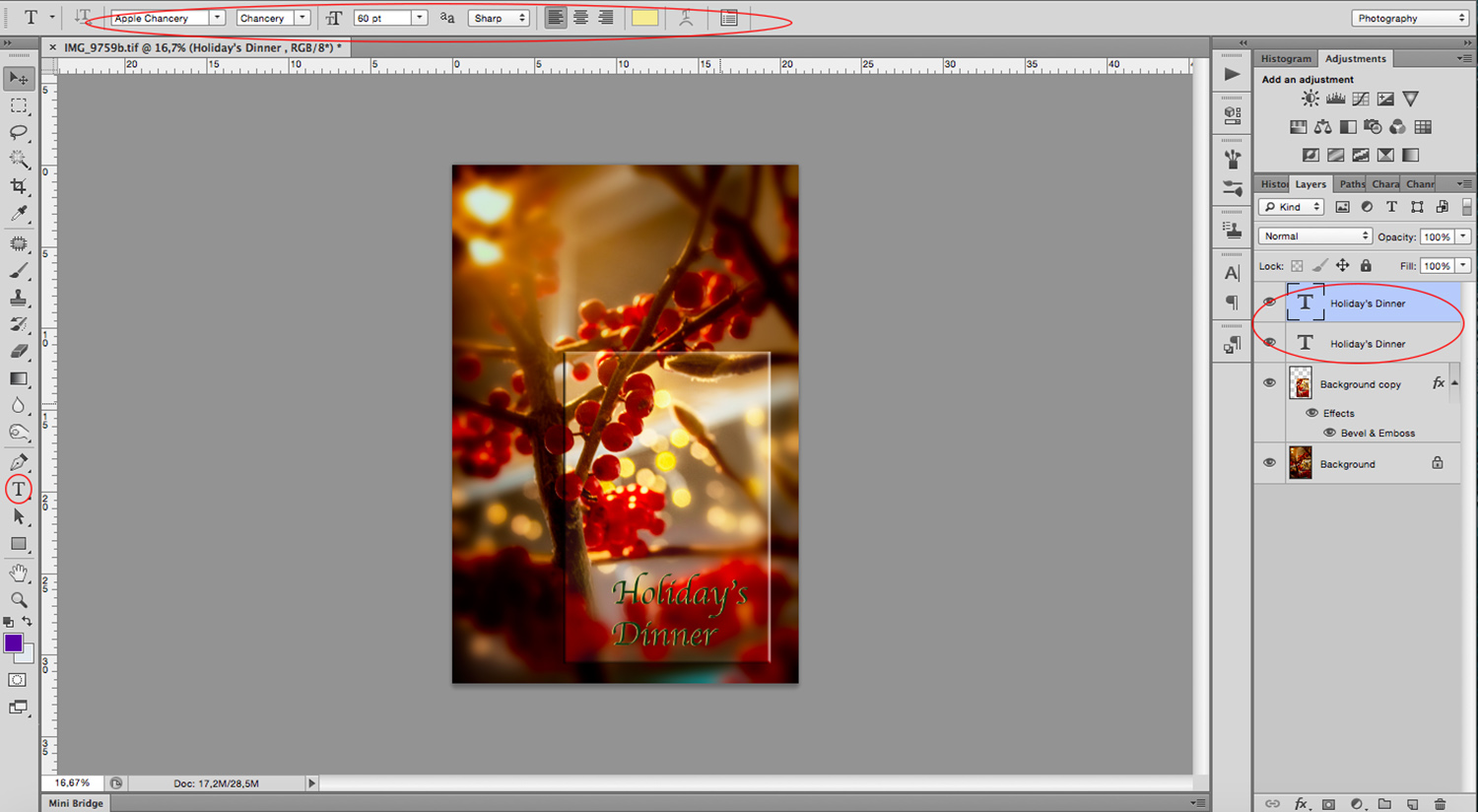 7- How to Make Great Photo Invitations in Photoshop